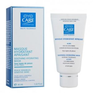 Masque apaisant hydratant de chez Eye Care Cosmetics