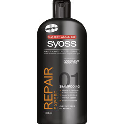 Shampooing Repair Expert de Saint Algue Syoss