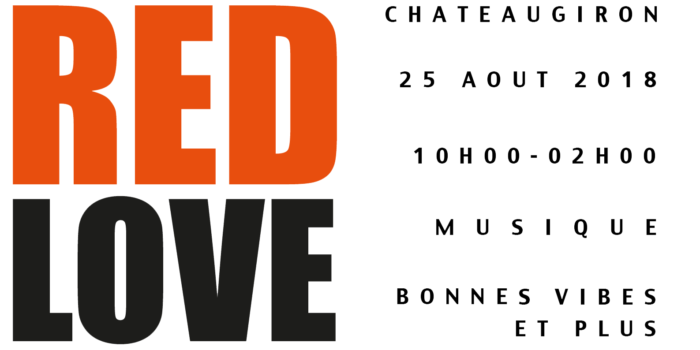 logo festival red love roux