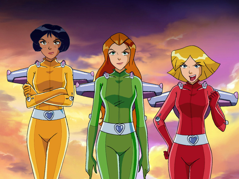 Sam, la rousse du dessin animé Totally Spies